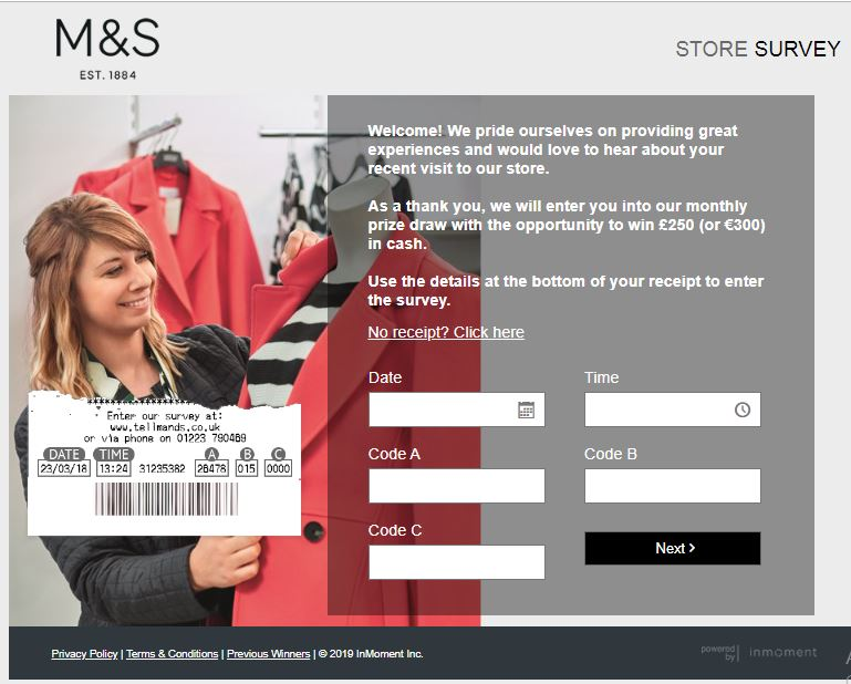 M&S Survey