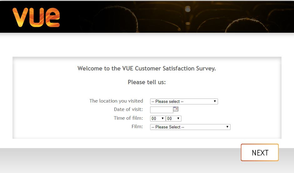 My Vue Customer Survey 1