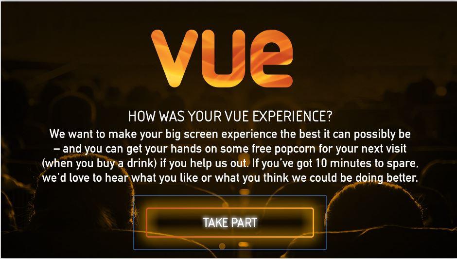 My Vue Customer Survey