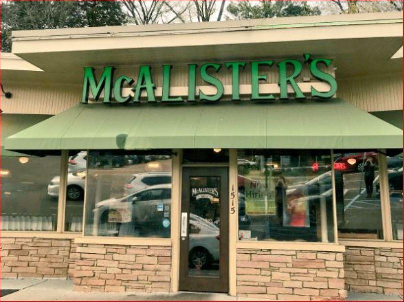 mcalisters survey outside