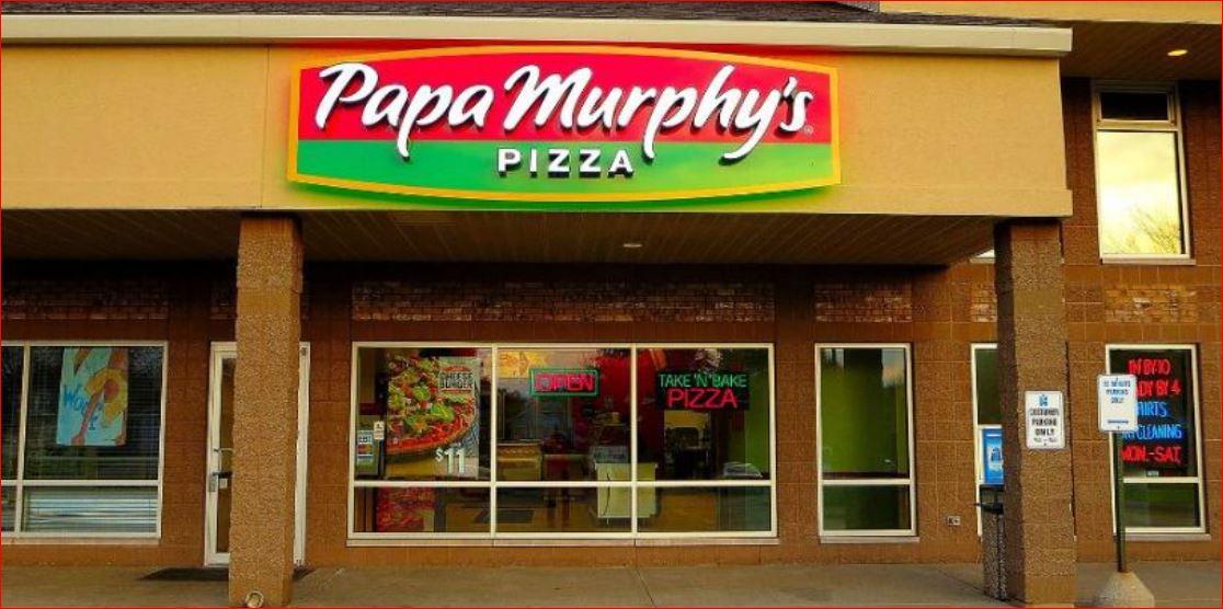 Papa Murphys Survey outside