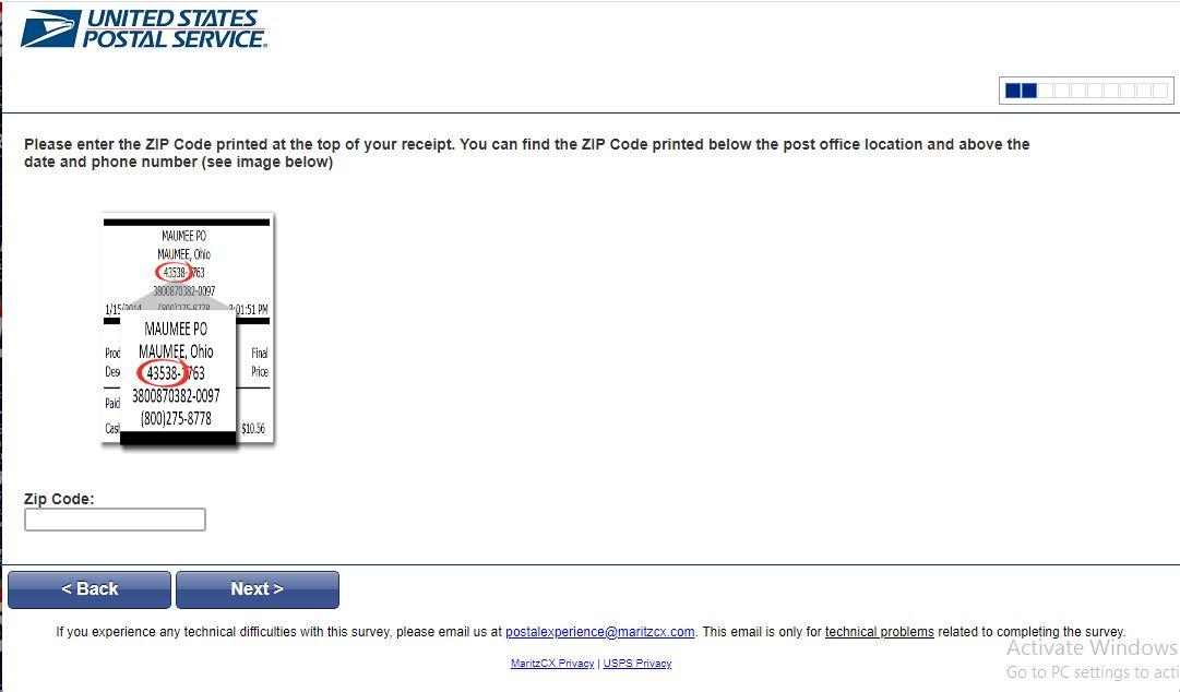 Postal Service Survey