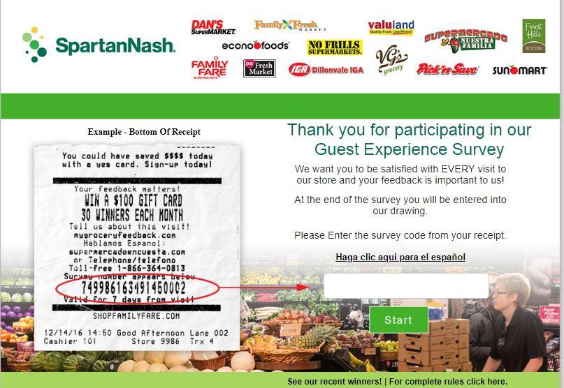 SpartanNash survey