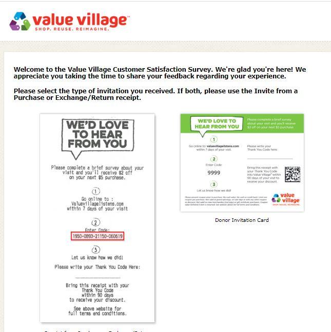 Valuevillagelistens