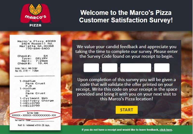 TellMarcos Survey