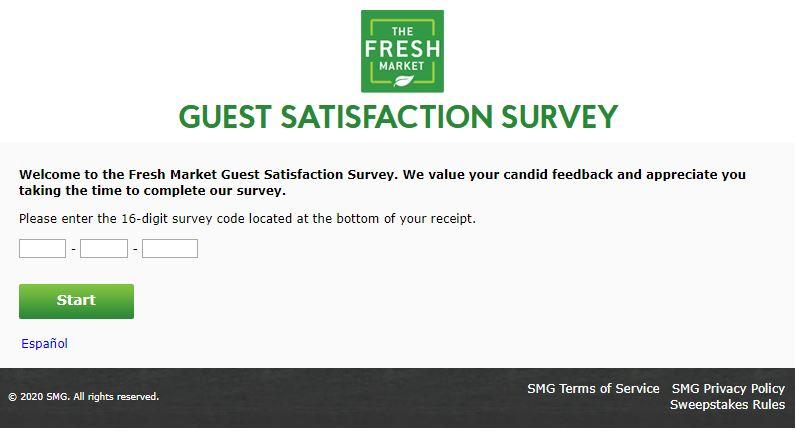 TheFreshMarketSurvey