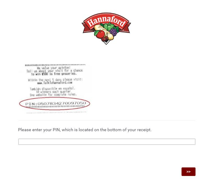 hannaford sweepstakes