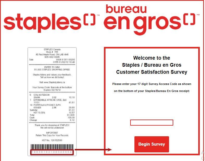 Bureau en Gros & Staples Survey 1