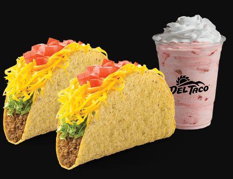 Del taco Survey food