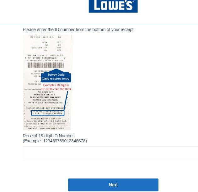 Lowes Survey