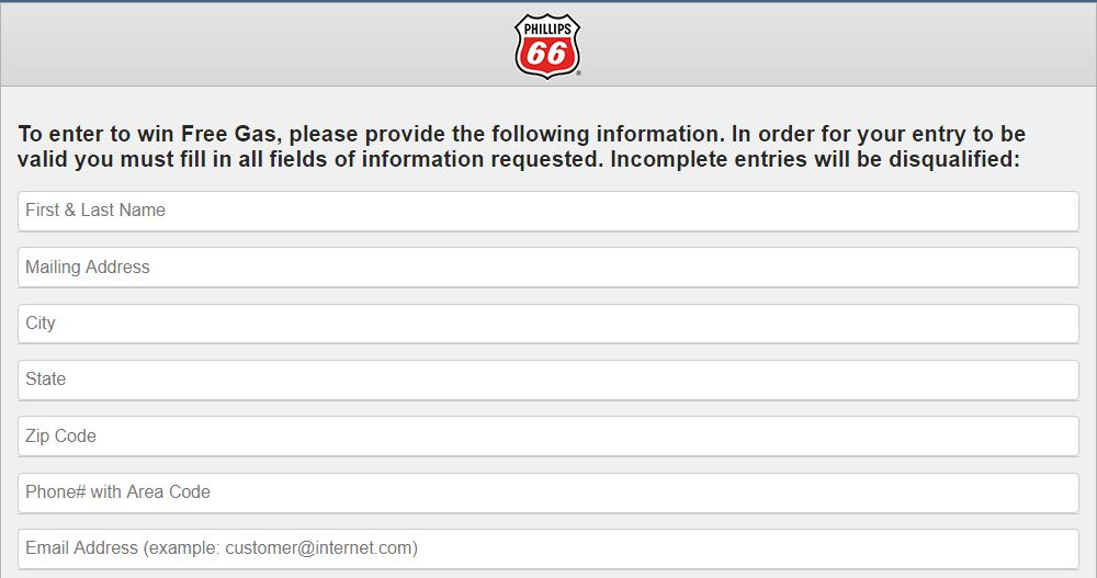 Phillips 66 customer feedback