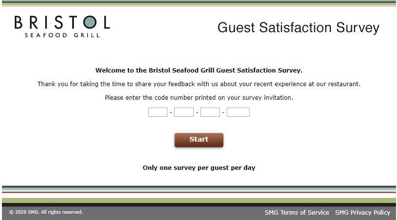 Bristol Seafood Grill Survey
