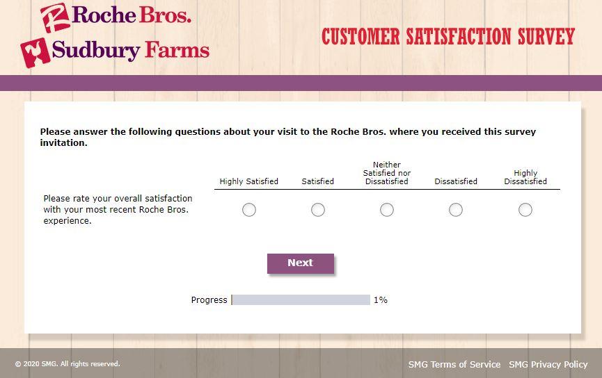 Roche Bros Survey