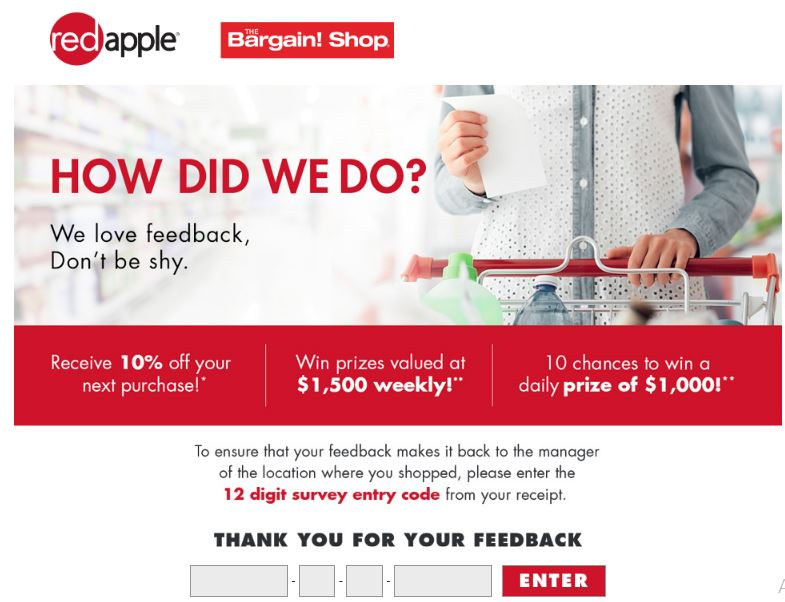 red apple survey