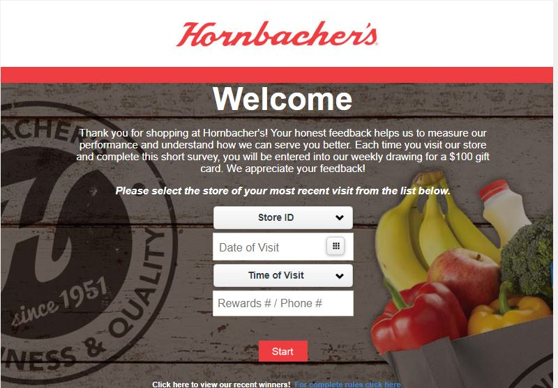 Hornbachers Survey