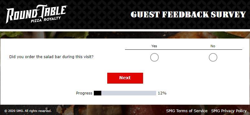 Round Table Pizza Survey