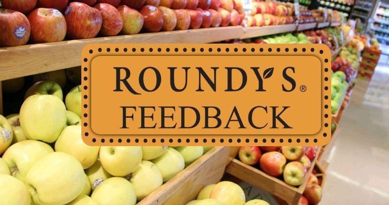 Roundys Feedback Survey