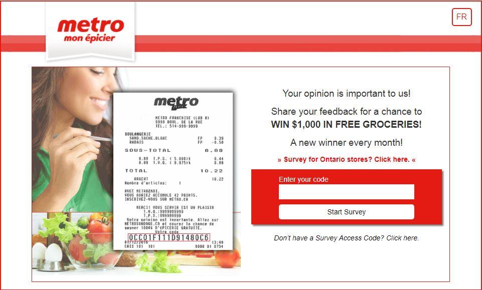 metro survey canada
