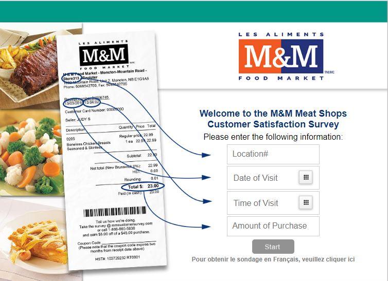 m&m survey