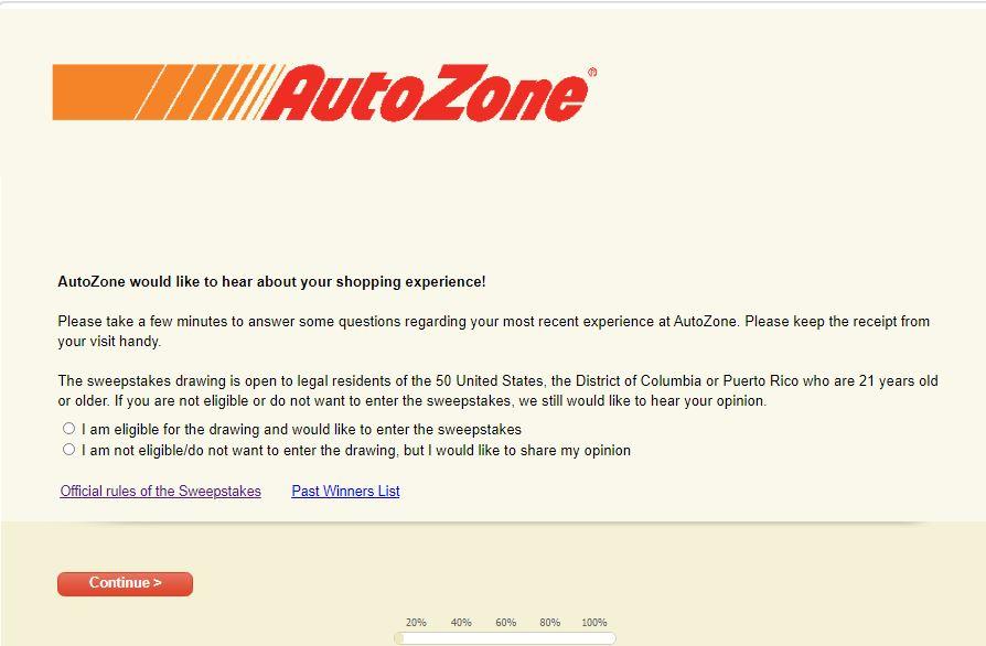 AutoZoneCares Survey