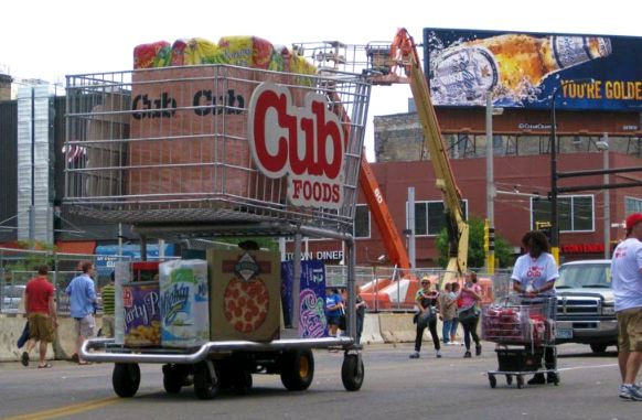 Cub Foods Survey Cart