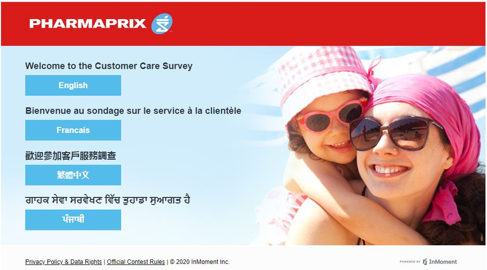Pharmaprix Pharmacy Survey