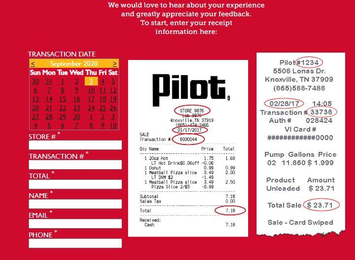 Pilot Flying J Survey