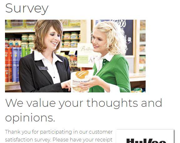 Hy-Vee Survey