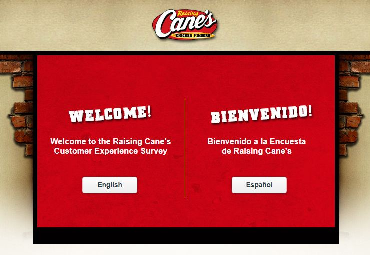 Raising Cane's Survey 1st