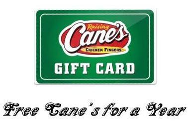Raising Cane's Survey Reward