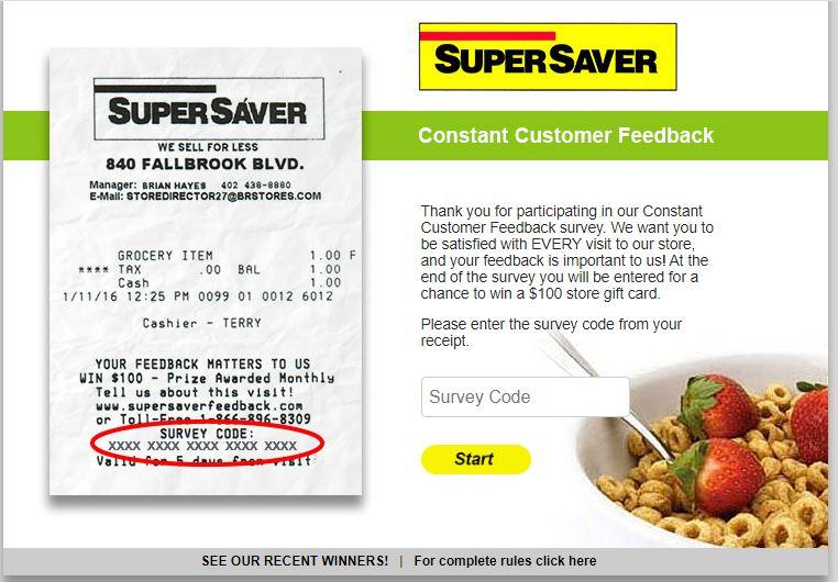 super saver rewards